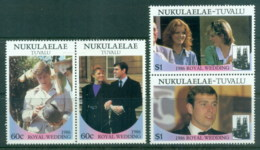 Tuvalu Nukuaelae 1986 Royal Wedding, Andrew & Sarah MLH - Tuvalu