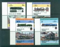 Tuvalu Nukulaelae 1984 LOW Trains Pairs SPECIMEN MUH Lot80013 - Tuvalu