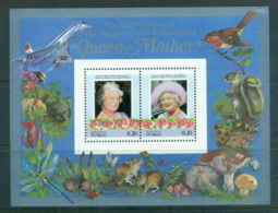 Tuvalu Nukulaelae 1986 Queen Mother 85th Birthday $1.20 MS MUH - Tuvalu