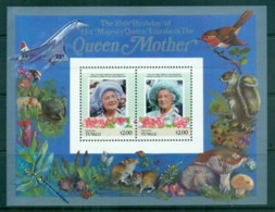 Tuvalu Vaitupu 1986 Queen Mother 85th Birthday $2 MS MUH - Tuvalu