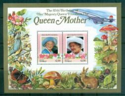 Tuvalu Vaitupu 1986 Queen Mother 85th Birthday $2.50 MS MUH - Tuvalu