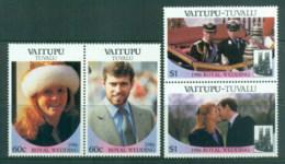 Tuvalu Vaitupu 1986 Royal Wedding, Andrew & Sarah MLH - Tuvalu
