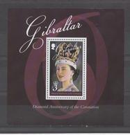 Anniversaire Du Couronnement - Diamond Anniversary Of Coronation - Gibraltar