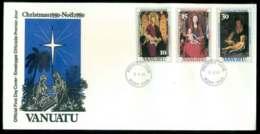 Vanuatu 1980 Xmas FDC Lot51720 - Vanuatu (1980-...)