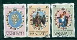 Vanuatu 1981 Charles & Diana Wedding FU Lot45321 - Vanuatu (1980-...)
