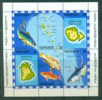 Vanuatu 1983 Economic Zone MS MUH Lot81430 - Vanuatu (1980-...)