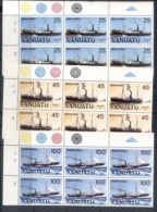 Vanuatu 1984 Ships Blk6 MUH - Vanuatu (1980-...)