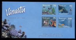 Vanuatu 1997 Marine Life, Diving Uncancelled FDC - Vanuatu (1980-...)