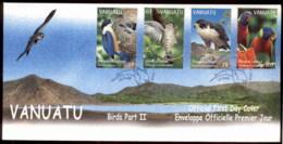 Vanuatu 1999 Birds PtII FDC - Vanuatu (1980-...)