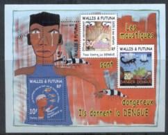 Wallis & Futuna 2004 Anti Dengue Fever, Mosquito MS MUH - Unused Stamps