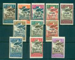 Wallis & Futuna 1943 Postage Dues Opt France Libre Asst To 3f (11/13, No 4c, 60c) MLH Lot49495 - Unused Stamps