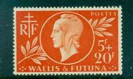 Wallis & Futuna 1944 Red Cross MLH Lot49492 - Wallis And Futuna