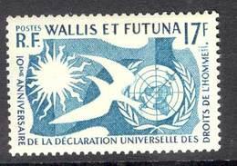 Wallis & Futuna 1963 Human Rights MUH Lot14760 - Wallis And Futuna