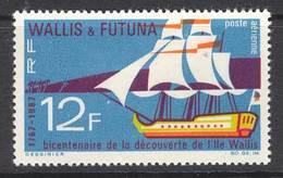Wallis & Futuna 1967 Discovery MLH Lot14398 - Wallis And Futuna