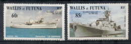 Wallis & Futuna 1981 200 Mile Zone Surveillance , Ship MUH - Wallis And Futuna