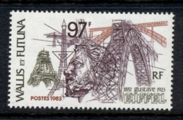 Wallis & Futuna 1983 Gustave Eiffel MLH - Wallis And Futuna