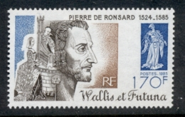 Wallis & Futuna 1985 Pierre De Roussard, Poet MLH - Wallis And Futuna