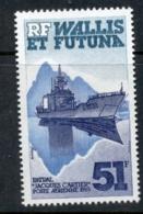 Wallis & Futuna 1985 Ship, Jacques Cartier MLH - Wallis And Futuna