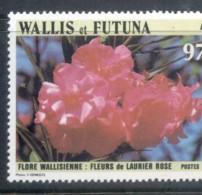Wallis & Futuna 1986 Flower, Rose Laurel MUH - Wallis And Futuna