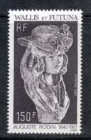 Wallis & Futuna 1987 Sculpture By Auguste Rodin MLH - Wallis And Futuna