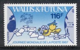 Wallis & Futuna 1987 World Post Day MLH - Wallis And Futuna