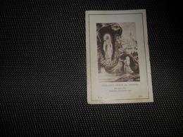 Doodsprentje ( E 413 )   Overledenen Te Wetteren ( St . Barbaragesticht )  1926 - 1927 - Todesanzeige