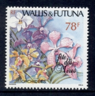 Wallis & Futuna 1990 Mother's Day, Flowers MLH - Unused Stamps