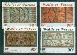 Wallis & Futuna 2001 Tapas Cloths FU - Unused Stamps