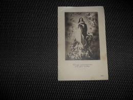 Doodsprentje ( E 415 )   Overledenen Te Wetteren ( St . Barbaragesticht )  1929 - 1930 - Todesanzeige