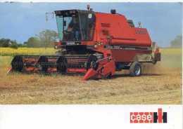 Carte Publicitaire Moissonneuse Batteuse  CASE IH   D8500 – 170 Ch - Tractors