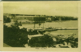 CROATIA -  POLA / PULA -  LA RIVA  - EDIT ALTEROCCA - 1920s ( BG513) - Croatia