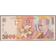 TWN - ROMANIA 107b - 5000 5.000 Lei 1998 (2001) Prefix 4A UNC - Romania