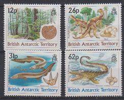 British Antarctic Territory (BAT) 1991 Dinosaurs 4v  ** Mnh (40937B) - Ongebruikt