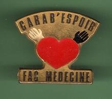 FAC MEDECINE *** CARAB'ESPOIR *** 0079 - Médical