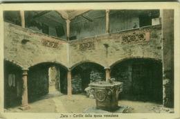 CROATIA -  ZARA / ZADAR - CORTILE DELL'EPOCA VENEZIANA - EDIT STENGEL & CO. 1920s ( BG516) - Croatia