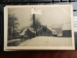 19224) SAARGEBIET WINTER IM GRUMBACHTAL NON VIAGGIATA - Germania