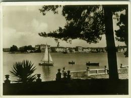 CROATIA -  PARENZO / Poreč - PANORAMA DELL'ISOLA S. NICOLO' - EDIT CARTOLERIA GREATTI - 1940s  ( BG517) - Croatia