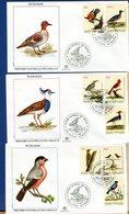 VATICANO - FDC 1989 - FILAGRANO - HISTOIRE NATURELLE DES OISEAUX  -  ECOLOGIA - FDC