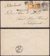 Indes Néerlandaises 1900 - Entier Postal Vers  Pays Bas  Ref. (DD) DC-MV-330 - Indes Néerlandaises