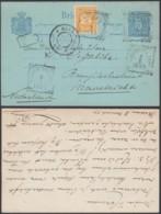 Indes Néerlandaises 1899 - Entier Postal De Medan Vers  Mastricht -Pays Bas  Ref. (DD) DC-MV-332 - Indes Néerlandaises