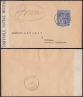 Congo Belge 1945-Lettre  Par Avion De Léopoldville Vers Douala-Cameroun -Guerre 40/45 Ref. (DD)  DC-MV-337 - Congo Belge - Autres