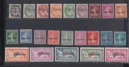 Andorre (Française) 1931 -  Lot Of 23 Timbres Neuf Avec Charnière.  Yv.  Nr.: 1/23  Ref. (DE) DC-MV-396 - Unused Stamps