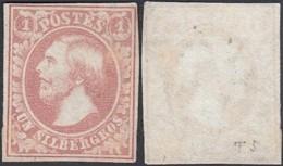 Luxembourg 1852 - Timbre Neuf Sans Gomme. Mi Nr.: 2E. Prifix Nr.: 2F + Certificat. (EB) DC-MV-414 - Luxembourg