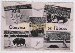 Espagne, Cartes Multivues, Corrida De Toros, écrite 1956 - Corrida