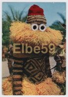 Republique Du Congo, Masque Bapendé, écrite Timbres - Africa