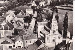GIBLES PLACE DE L'EGLISE VUE AERIENNE - France
