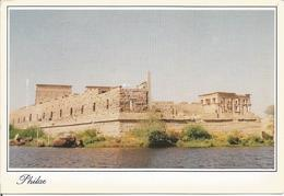 Temple Of Philae.  (scan Verso) - Autres