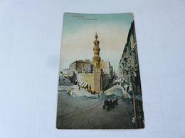 Alexandrie Rue Et Mosquee Attarine Egypt - Alexandria