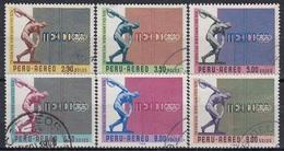 PERU 702-707,used - Peru