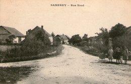 (76)  CPA  Samerey  Rue Nord    (Bon Etat) - France